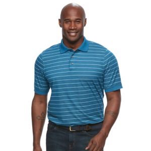 Big & Tall Croft & Barrow® True Comfort Classic-Fit Cool & Dry Striped Performance Polo
